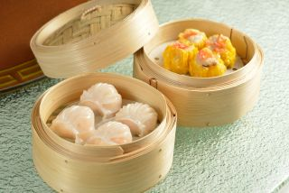 Steamed Shrimp Dumplings & Steamed Pork Dumplings